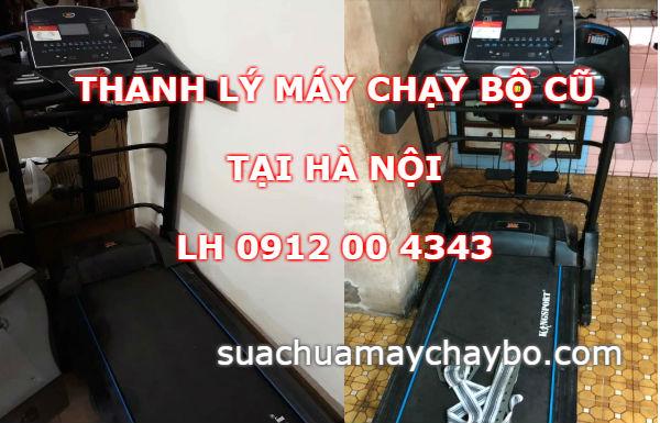 Thanh lý máy chạy bộ cũ tại Hà Nội