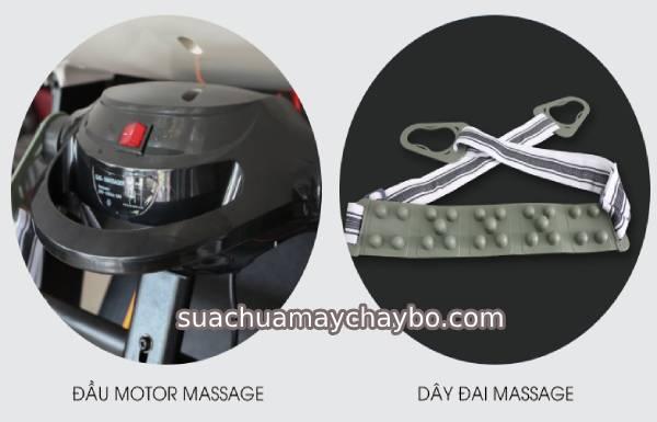 Giá bán dây đai massage máy chạy bộ
