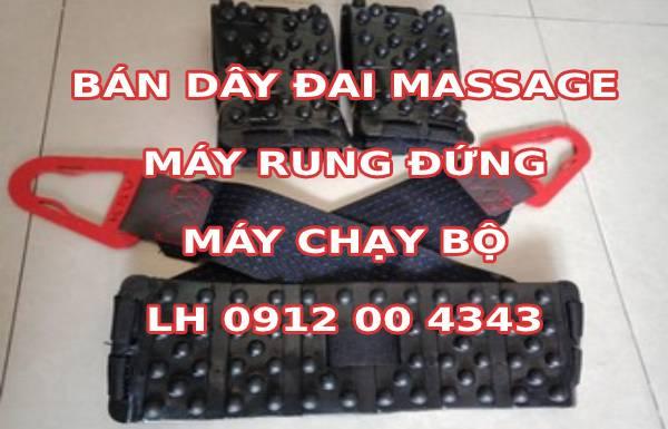 Dây đai máy massage rung bụng đứng