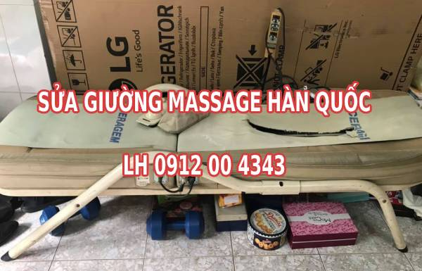 Sửa giường massage Hàn Quốc